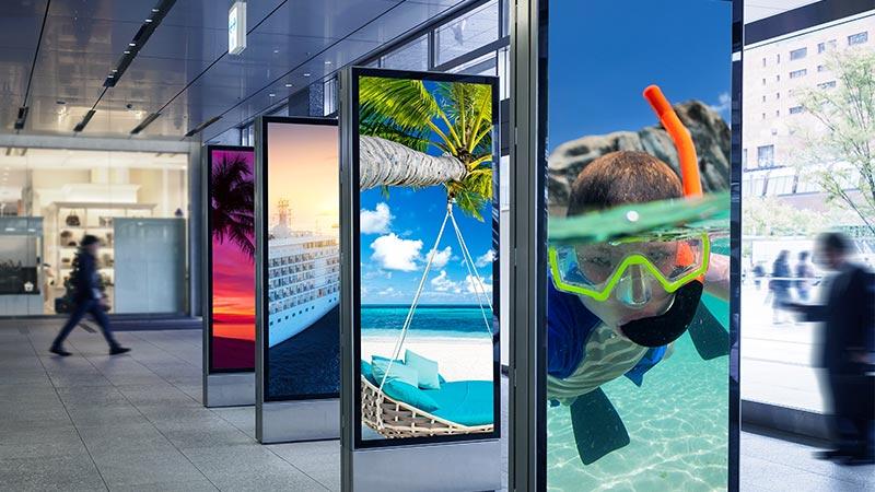 digital signage, reklam skärmar för butik