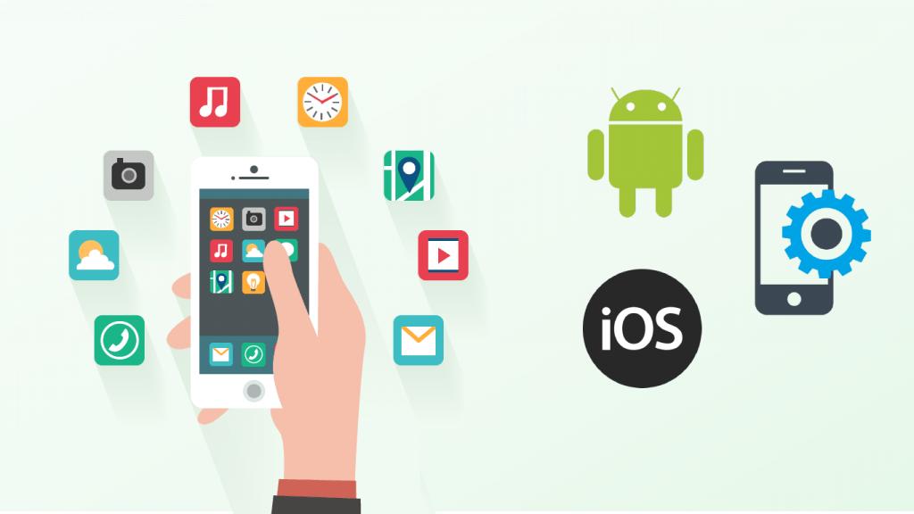 Mobil Apputveckling, apputveckling android, apputveckling iphone